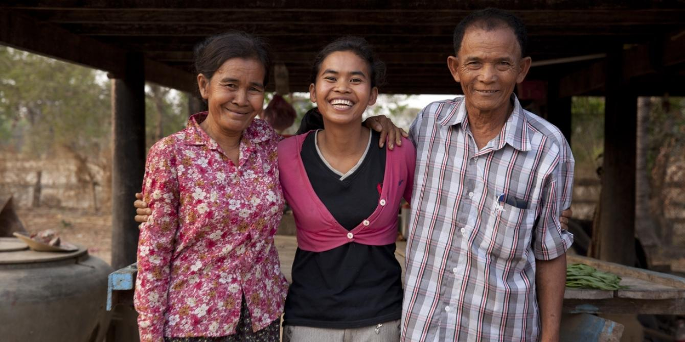 How a Daughter in Cambodia Demonstrates to Her Parents That New Ways of Growing Rice Can Double a Harvest, Even If You Plant Fewer Seeds